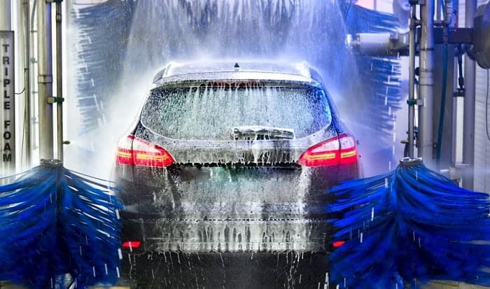how to use a drive through car wash