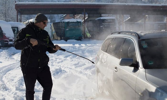 how often should i wash my car in the winter