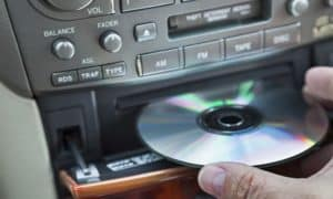 how to clean a car CD player