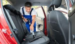 how to deep clean cloth car seats