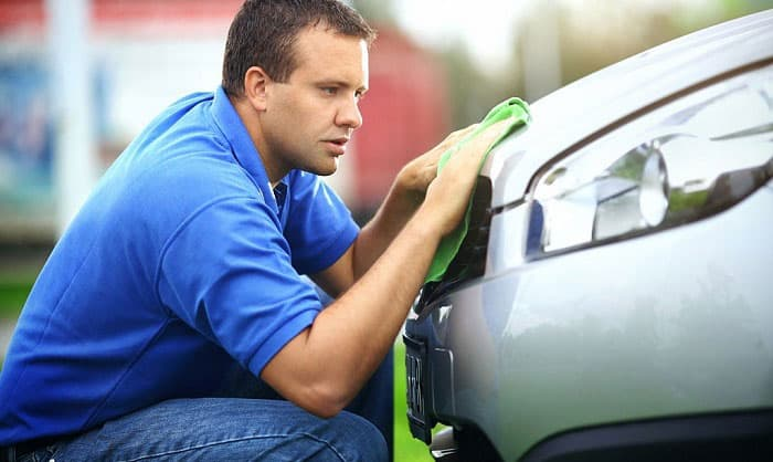 how to clean bugs off car with wd40