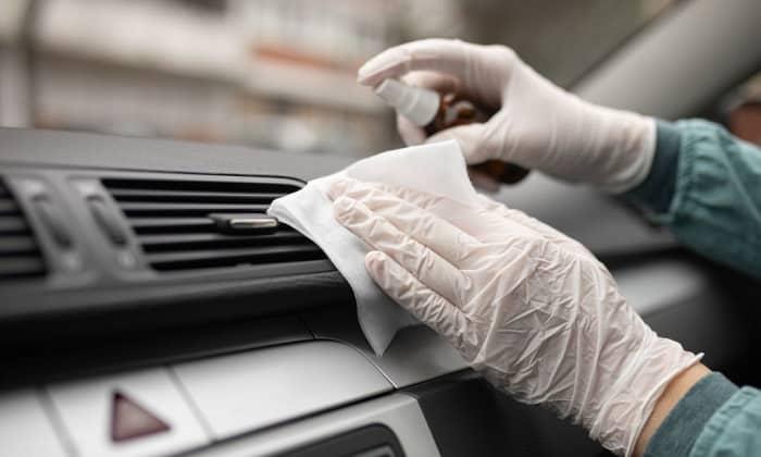 how to clean car air vents