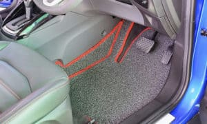 how to clean car carpet without a machine