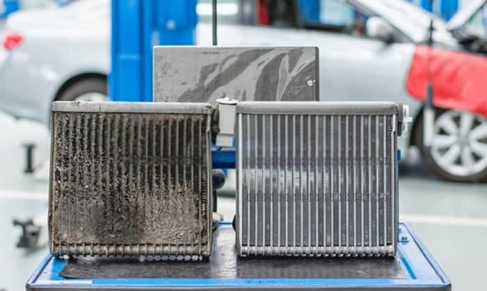 how to clean evaporator coil without removing